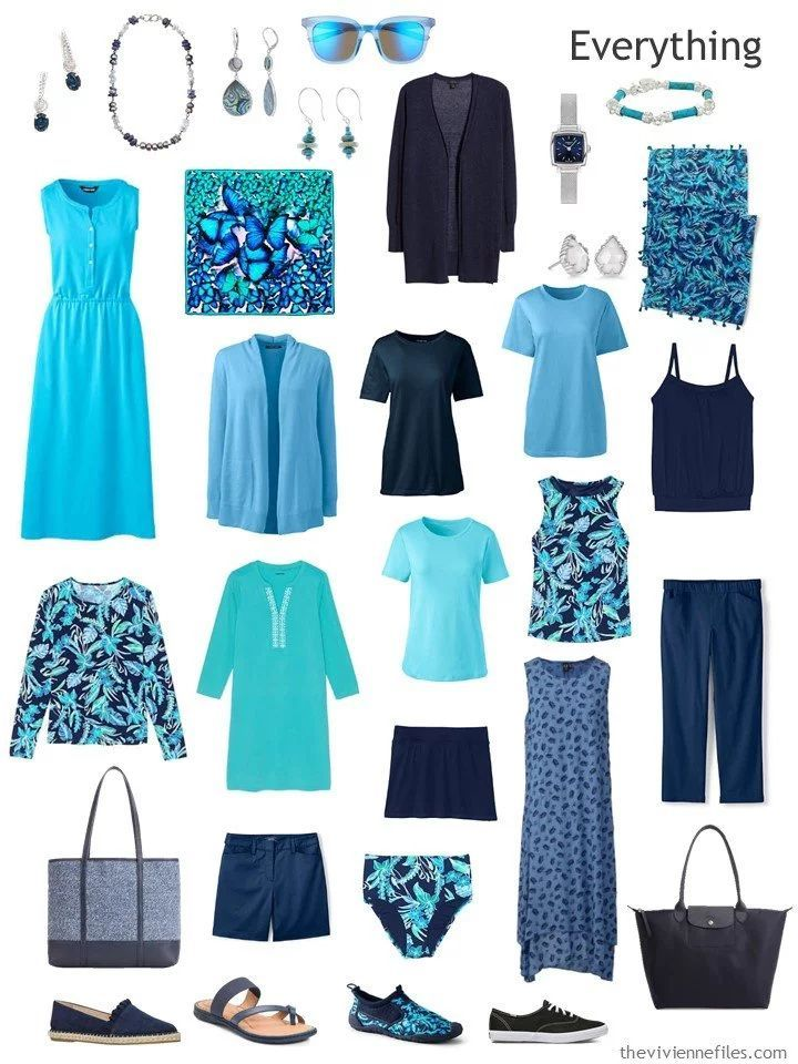 Start with Swimwear AGAIN? Building a Travel Capsule Wardrobe - The Vivienne Files