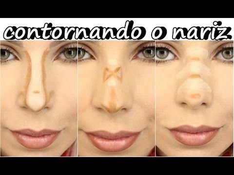 70a7fe854 Maquiagem – contorno para cada tipo de nariz - Silhueta Feminina 7 ...