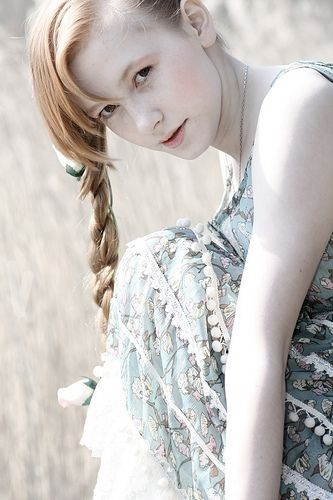 Pale Fair Skin Alabaster Skin Red Hair