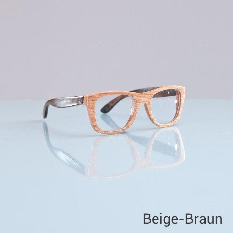 Wood Fellas Brille aus Eichen-Holz   Super highlights