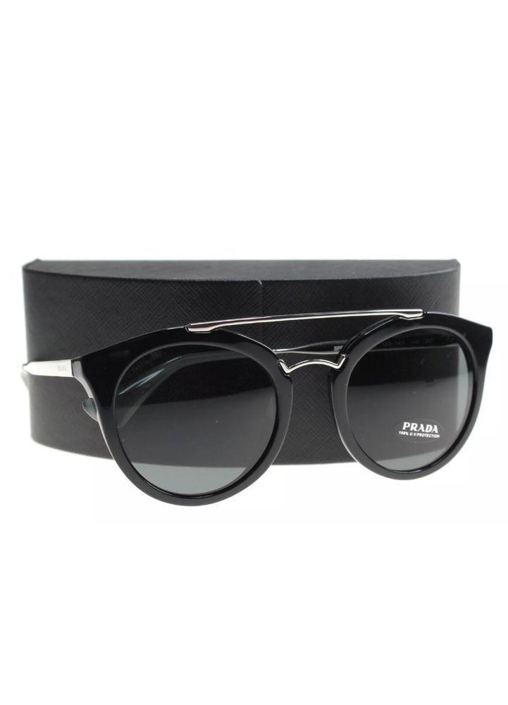 0056f441f6f1 ... sweden new prada sunglasses womens spr 23s black 1ab 1a1 cinema 52mm  designer fashion 4f4c1 8d408 ...