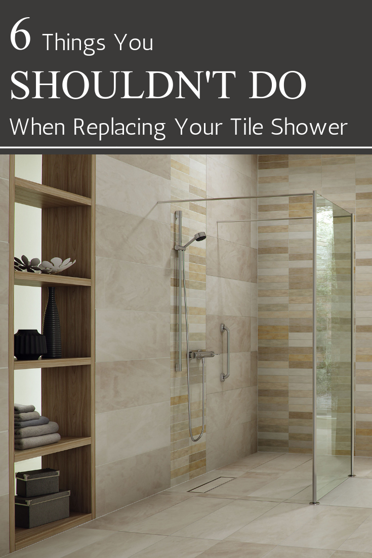 You Need To Read These 6 Tips Before Replace Your Tile Shower It Will Save Time And Money Innovate Building Solutions Tileshower