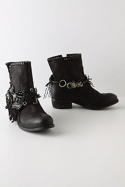 Odds & Ends Belted Booties - StyleSays
