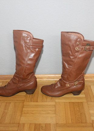 af05323027f456 Bequeme Stiefel, Braune Stiefel, Kreisel, Damenschuhe, Braun Werden, Cowboy  Stiefel,
