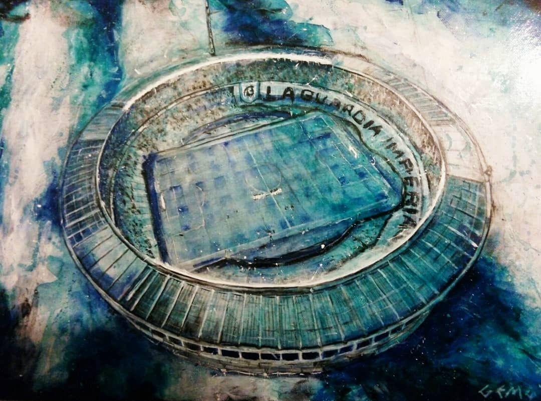Pin En Arte Estadios De Futbol