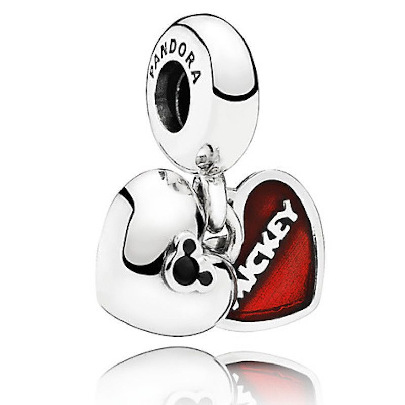 Disney Mickey and Minnie Mouse ''Mickey & Minnie'' Charm by ...