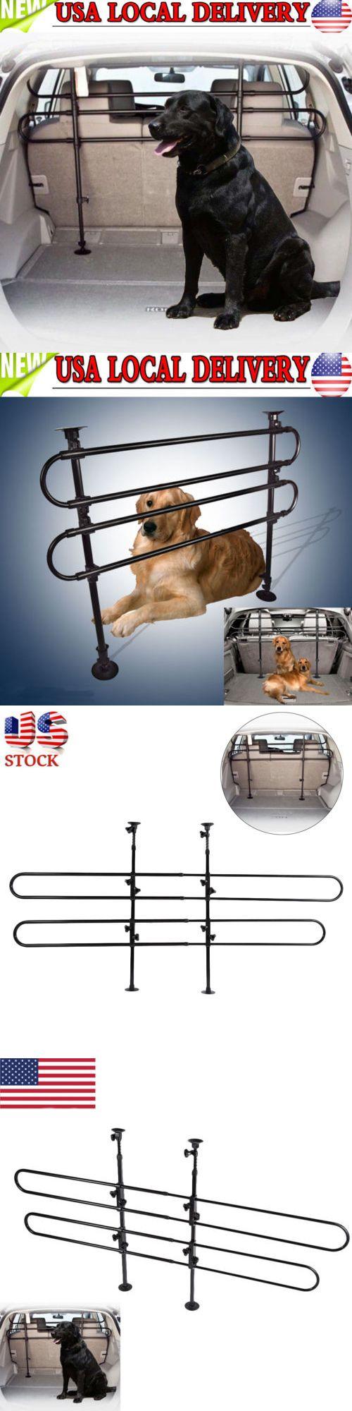 Adjustable vehicle auto car suv divider pet dog barrier fence cage