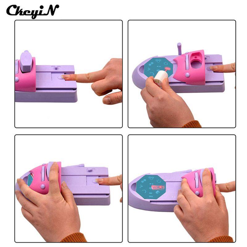 CkeyiN 1 Set Professional Nail Art DIY Pattern Printing Manicure ...