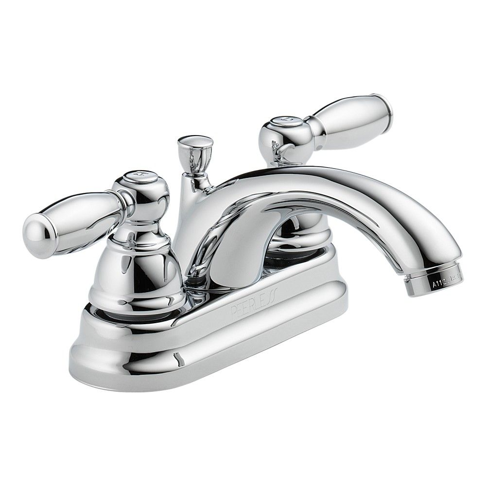 $67.95 in Brushed Nickel Peerless Apex Two Handle Lavatory Faucet ...