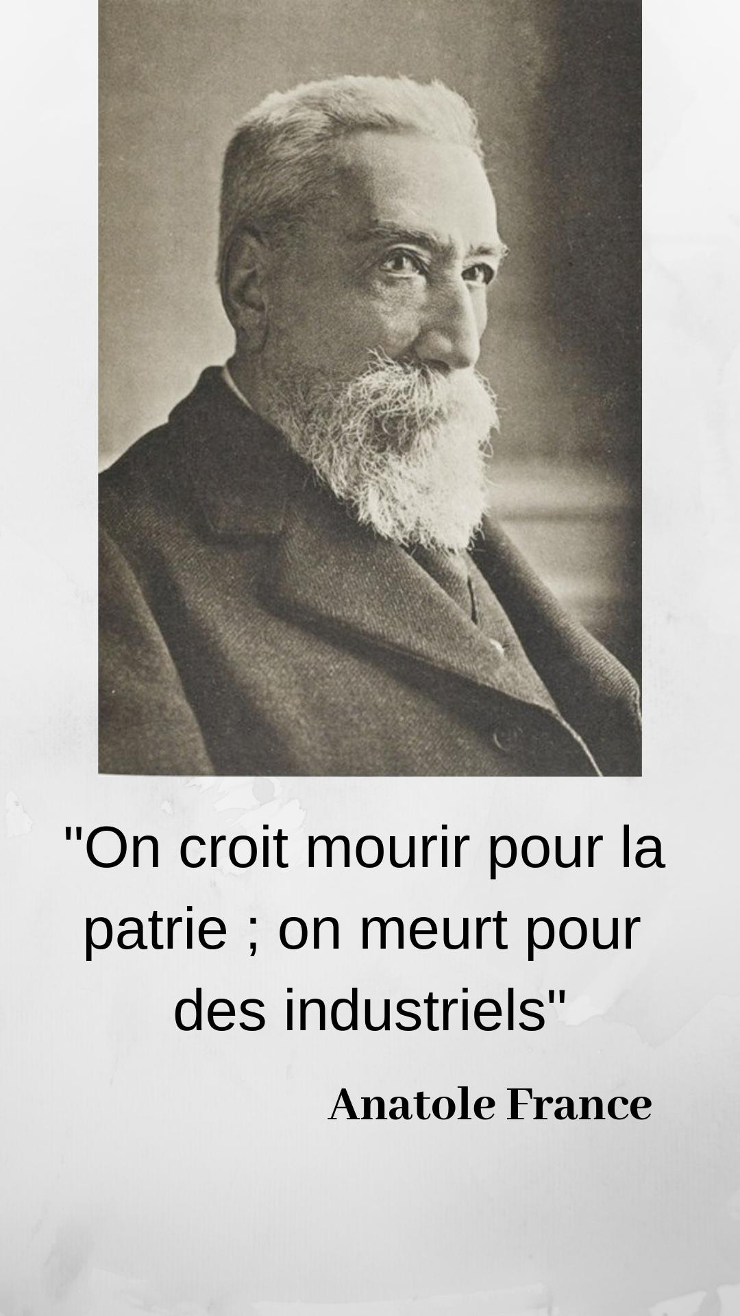 Anatole France Denonce Les Liens Entre La Politique Et L Economie En 2020 Citation Politique Citations Politiques Citation Sagesse