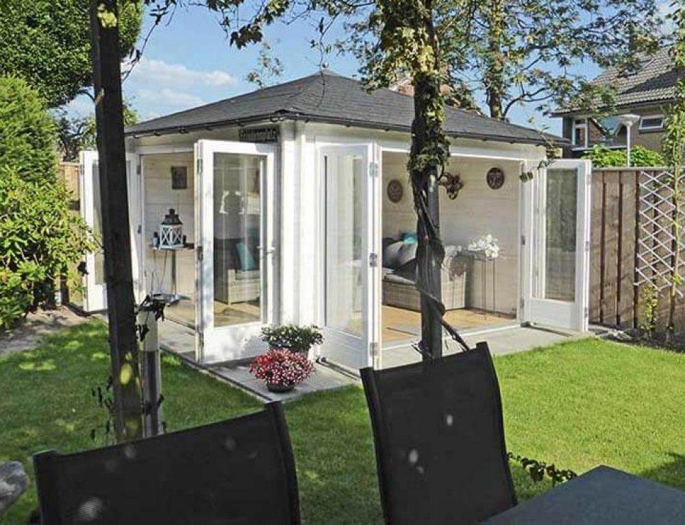 Aufgebaut und eingerichtet Gartenhaus Toronto44 mit