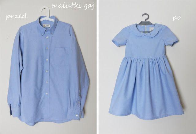 348f6dcbf0 Sukienka z męskiej koszuli