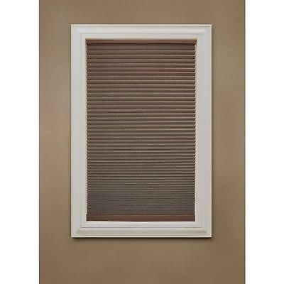 Great Home Decorators Collection Mocha Fabric Blackout Cordless Cellular Shade