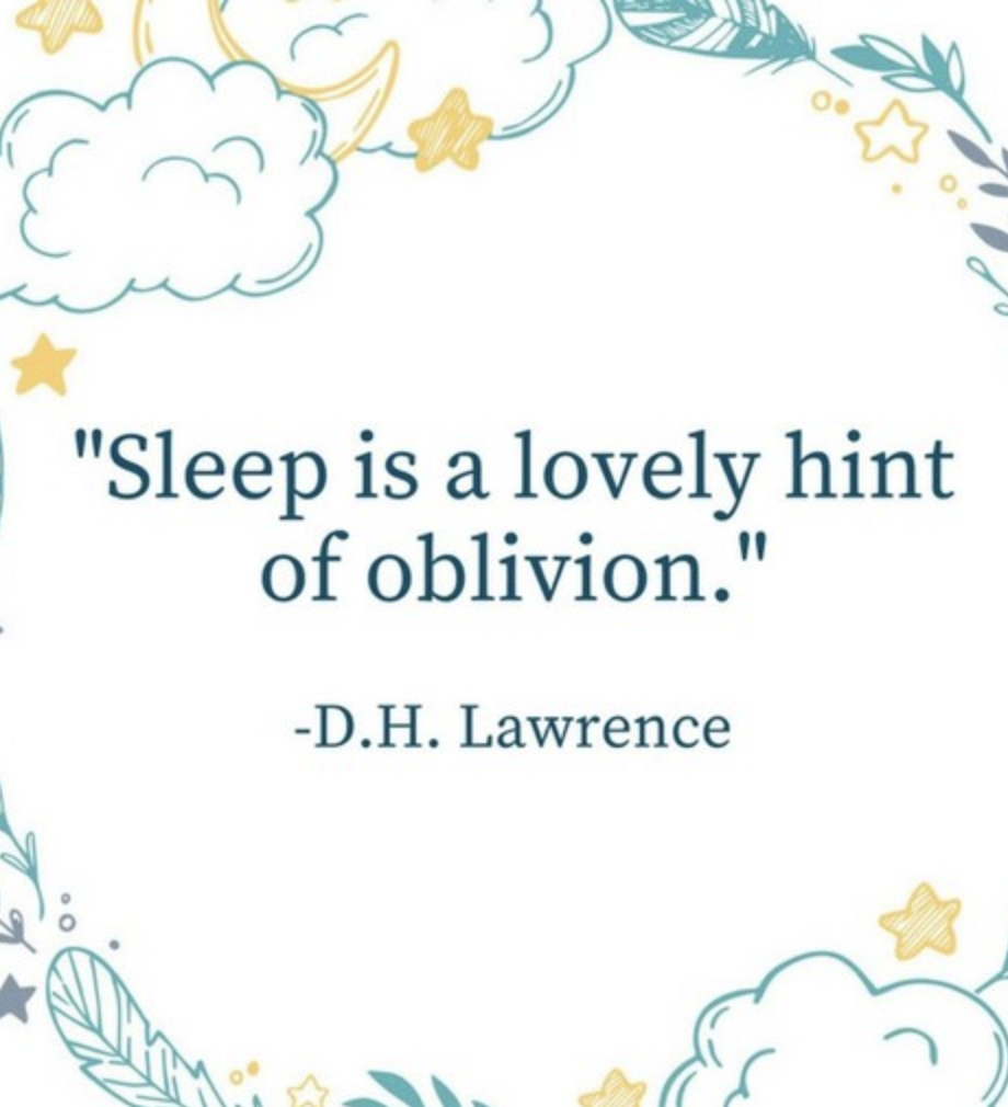 Sleep Is A Lovely Hint Of Oblivion Southernliving Quotes Sleep Quotes Funny Sleep Quotes Relax Quotes