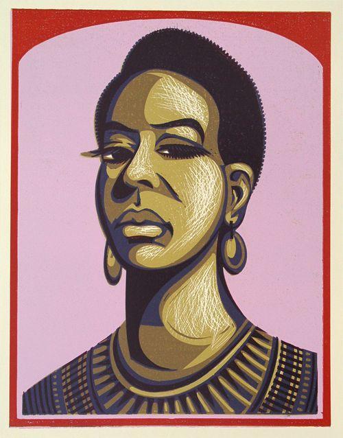Nina Simone I - The Alcorn Studio & Gallery