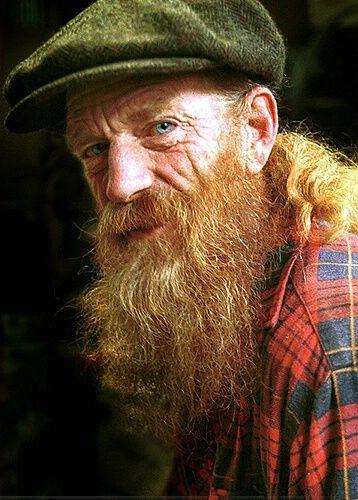 'My Friend' by Julie Best - Taken 80mm Nikon Lens ...Old Man Face Beard