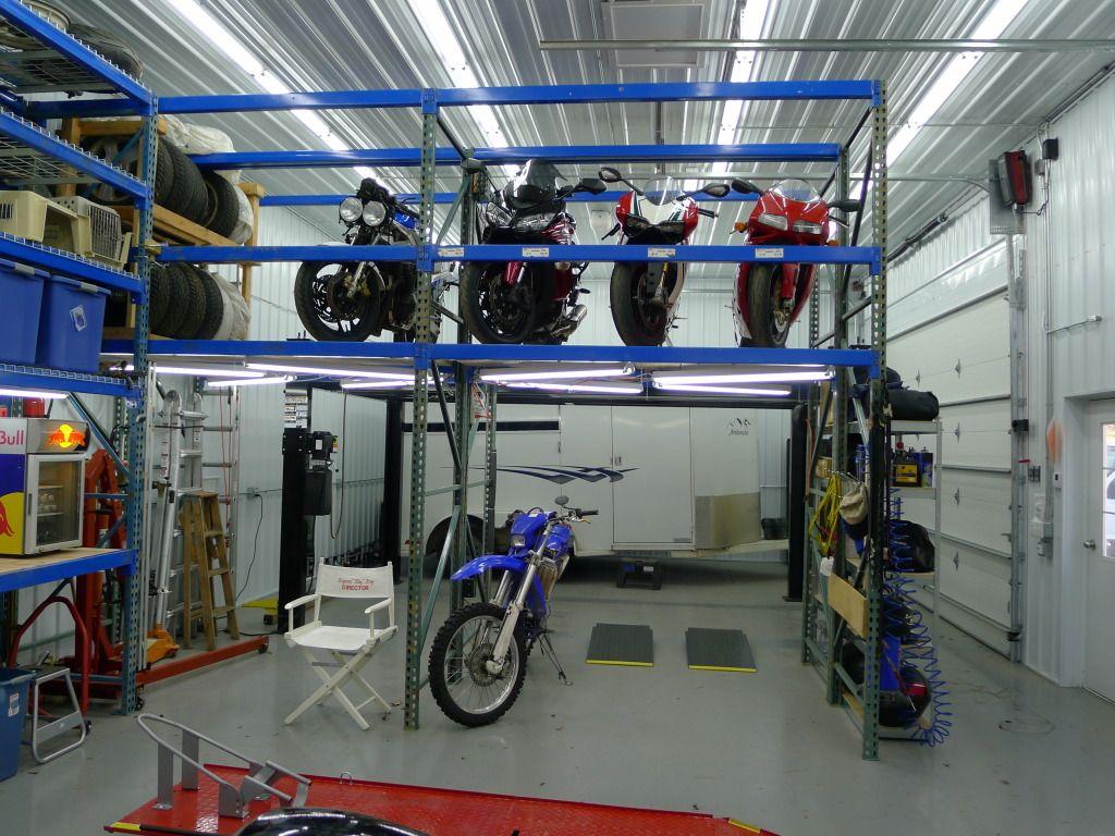 Awesome Pallet Racking Garage House Pinterest
