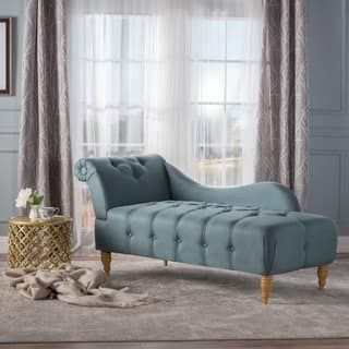 Shop For Antonya Fabric Tufted Chaise Lounge By Christopher Knight Home.  Get Free Shipping At Part 60