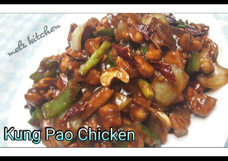 Resep Kung Pao Chicken Oleh Melz Kitchen Resep Makanan Jepang Resep Makanan