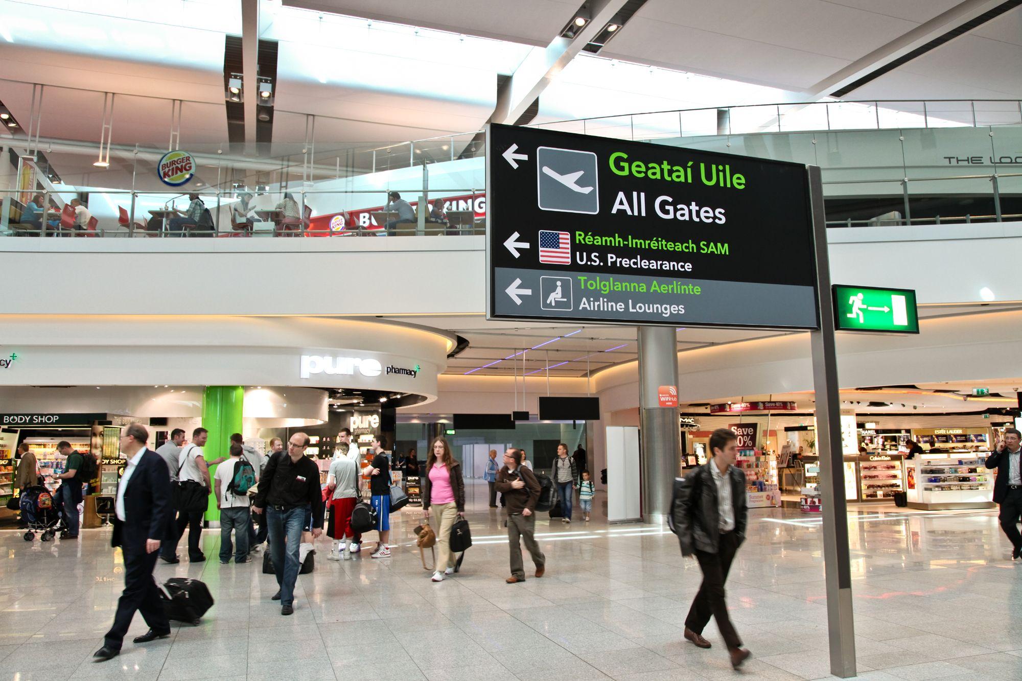 Departures Lounge Terminal 2 Dublin Airport Dublin Airport