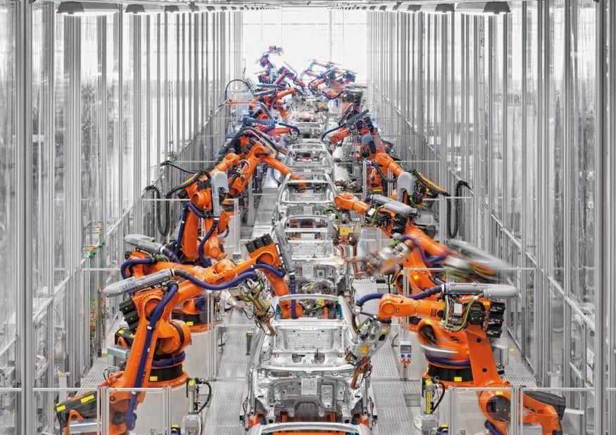 Trabajar en una industria automotriz