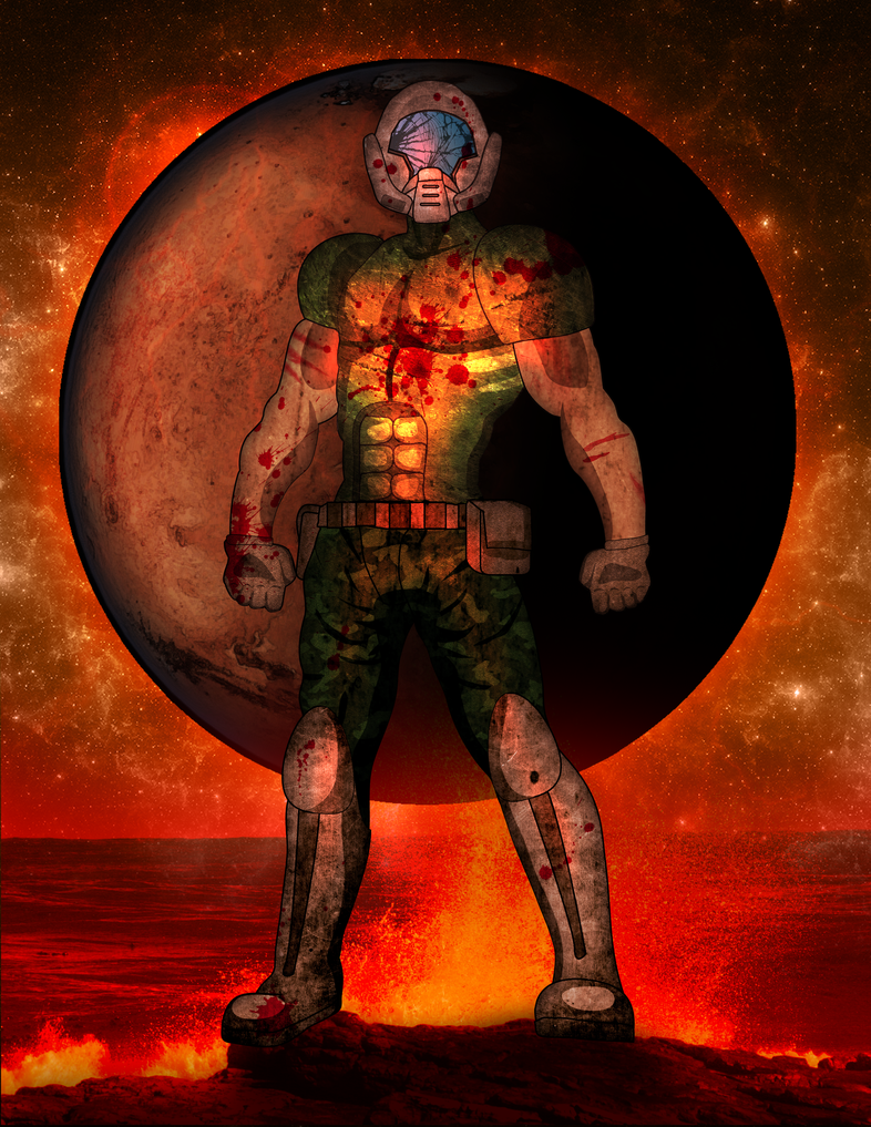 Doom Guy Concept By Bulletreaper117 On Deviantart Doom Doom