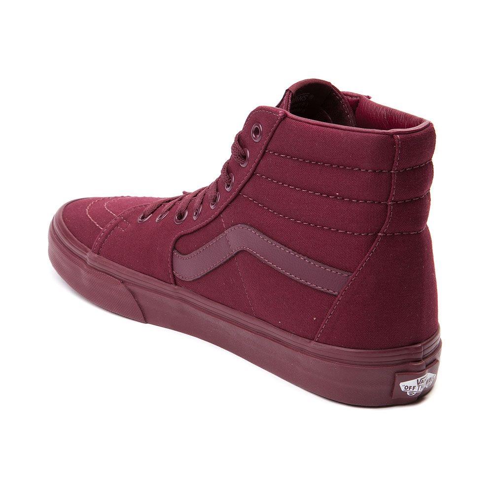 mens vans sk8 hi skate shoe