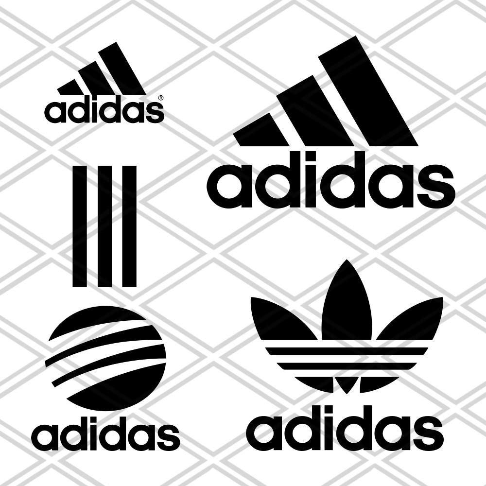 Adidas Svg , Files For Silhouette, Files For Cricut, SVG
