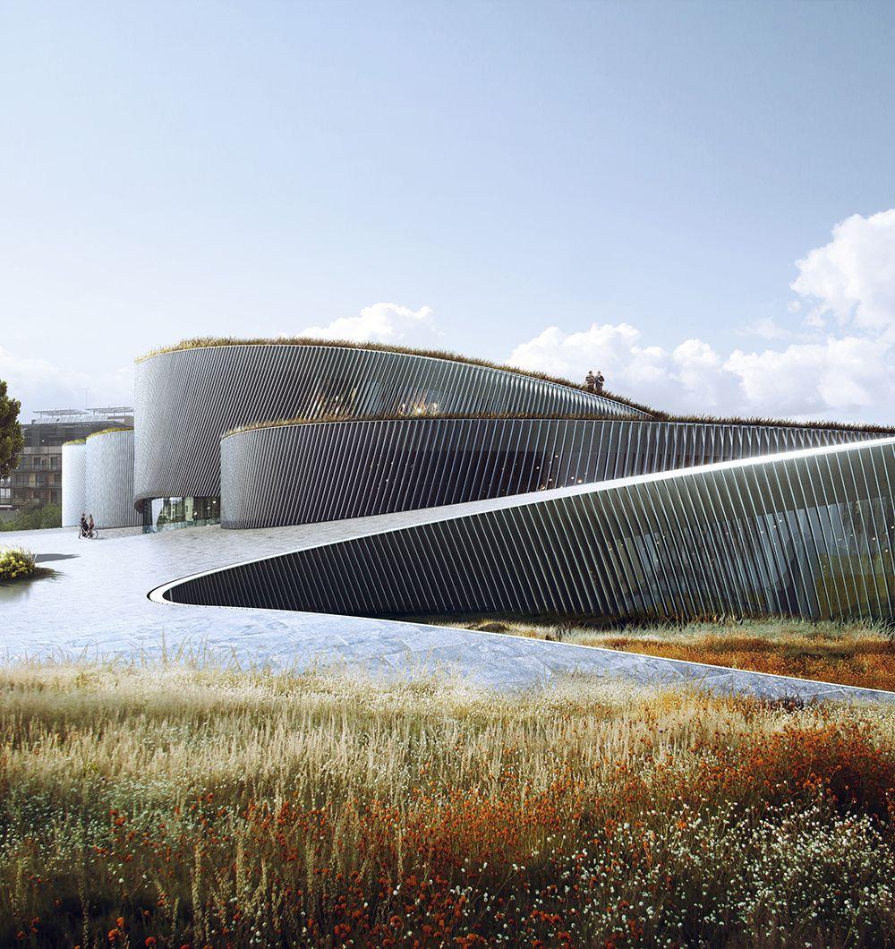 cit du corps humain big architects arquitectura pinterest architecture museum. Black Bedroom Furniture Sets. Home Design Ideas