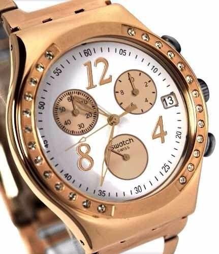 54b23a5f6856 Reloj Swatch Dreamwhite Rosse Swarovski -   3.000