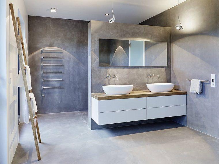 Scaletta In Legno Per Bagno : Come arredare un bagno con doccia separata da una parete
