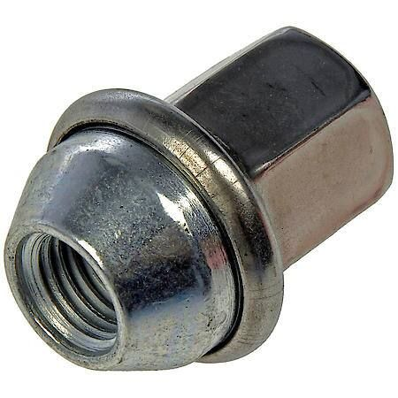 The original lug nut on certain vehicles has a failure-prone two-piece design that makes rust common and repair difficult. This Dorman OE FIX replacement has a one-piece, carbon steel design to prevent future problems. Product Features: Improved design - this replacement lug nut changes the original two-piece design to one piece for greater reliability Thoroughly tested - part has undergone proof load, salt spray, hardness and thread check testing to meet strict standards Quality engineering - d