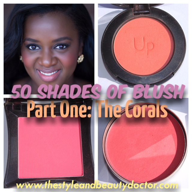50 Shades (sorta) Of Blush. Part One: The Corals