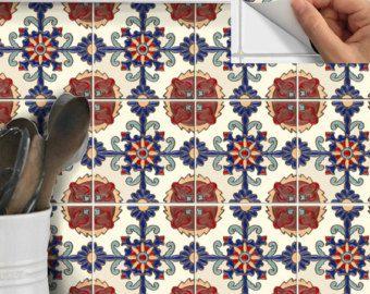 Tegel Stickers verwisselbare sticker voor keuken, badkamer of vloer ...