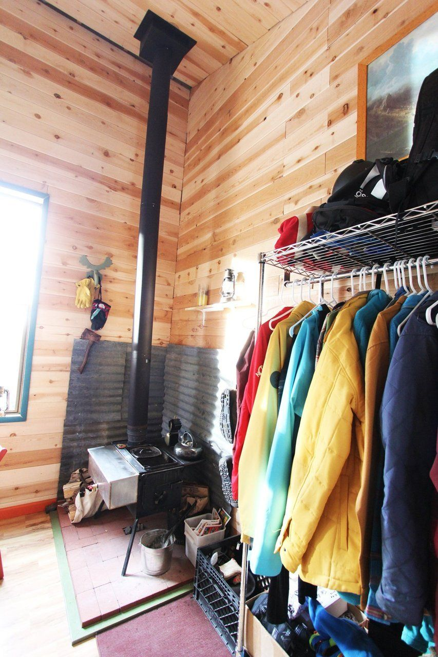 diy closet  http://www.apartmenttherapy.com/tim-and-hannahs-diy-tiny-tahoe-cabin-house-tour-199722#_