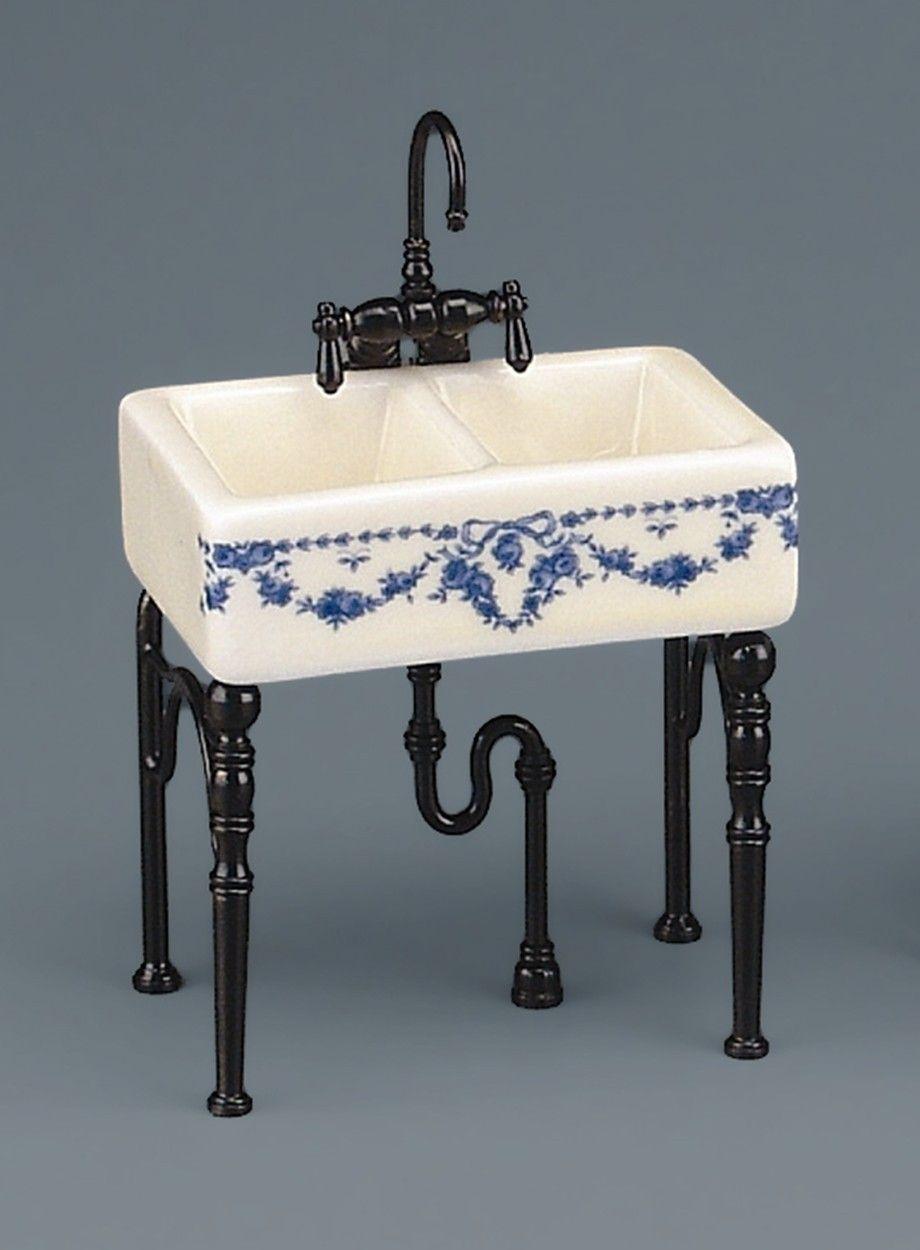 Dollhouse Victorian Kitchen Sink Victorian Dollhouse Pinterest