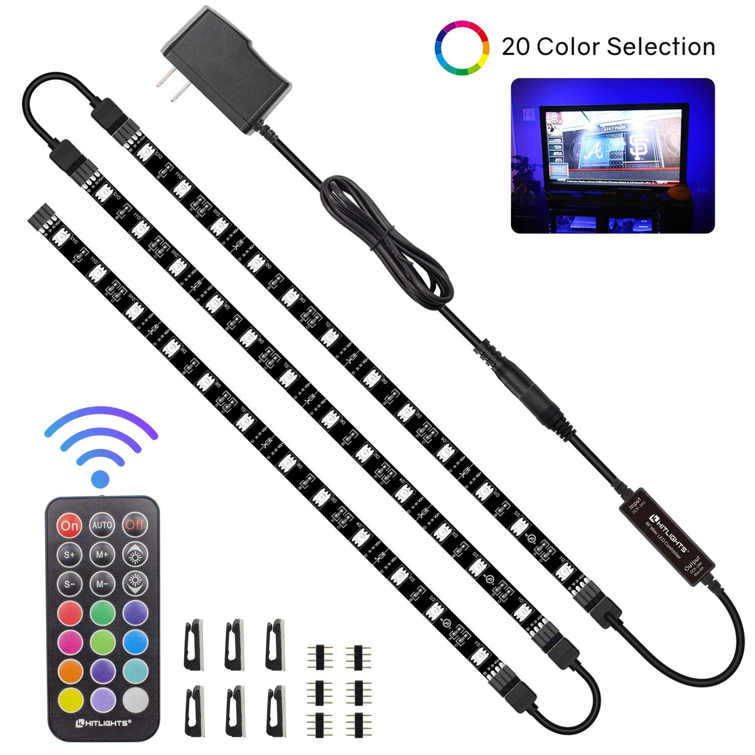 Led Strip Lights Hitlights 3 Pr Led Strip Lighting Led Light Strips Strip Lighting
