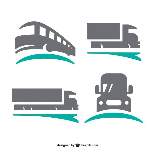 Download Transport Logos Set For Free Logo Set Transportation Logo Vector Free