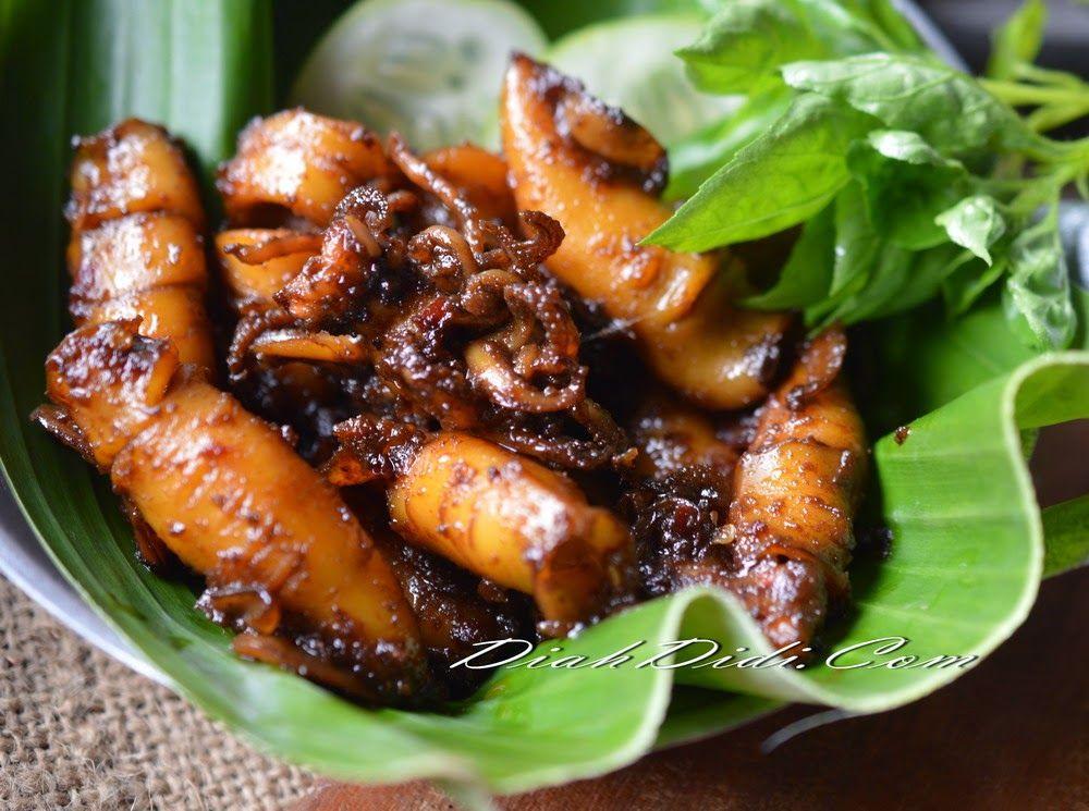 Cumi Bakar Pedas Resep Masakan Resep Makanan Asia Resep Masakan Indonesia