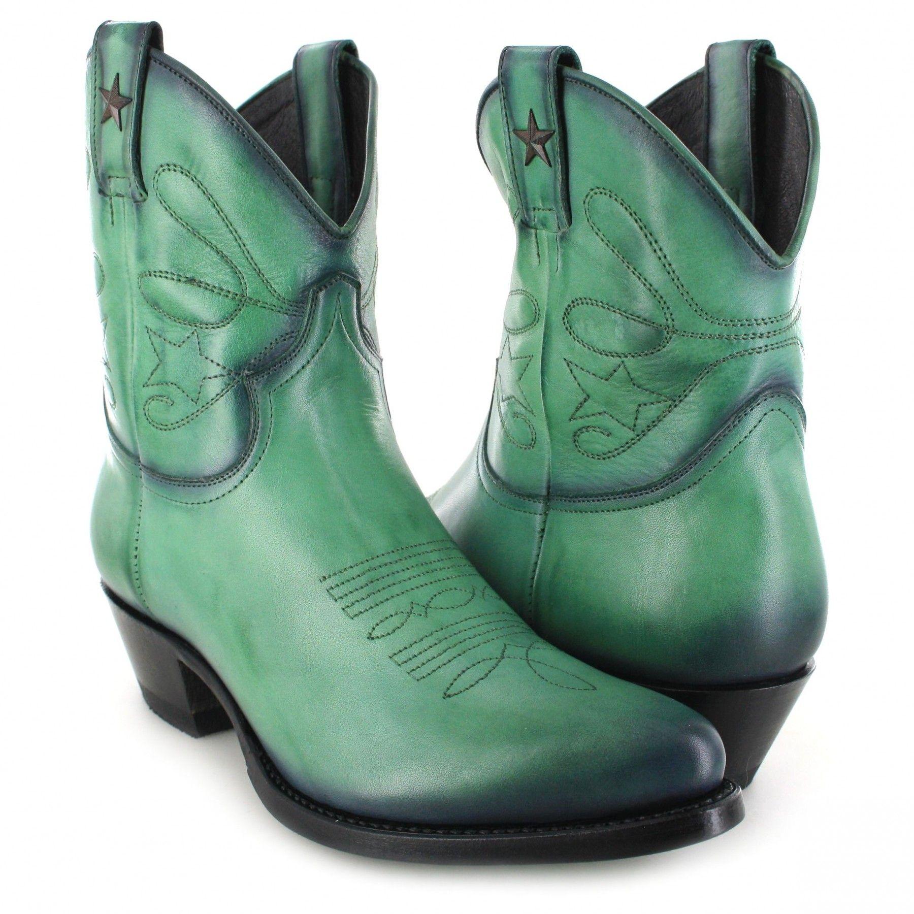 Mayura Verde Fashion 2374 Stiefelette Grün Boots c4LqSj35RA