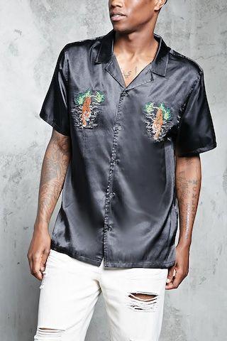 Tiger Satin Shirt