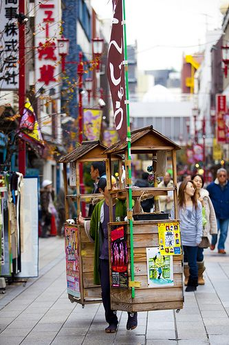 Scenes from Asakusa, Tokyo by Kona Photos, via Flickr