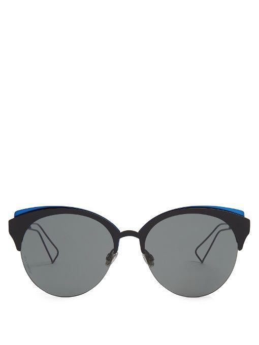 424c1995639 DIOR Diorama Club cat-eye sunglasses.  dior  sunglasses