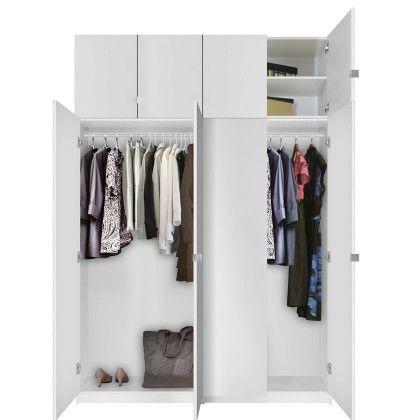 Great Alta Free Standing Closet   8 Door Taller Package