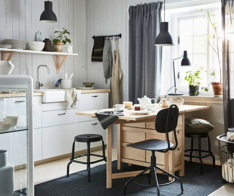 8 Clever Dining Room Design Ideas We're Stealing From IKEA