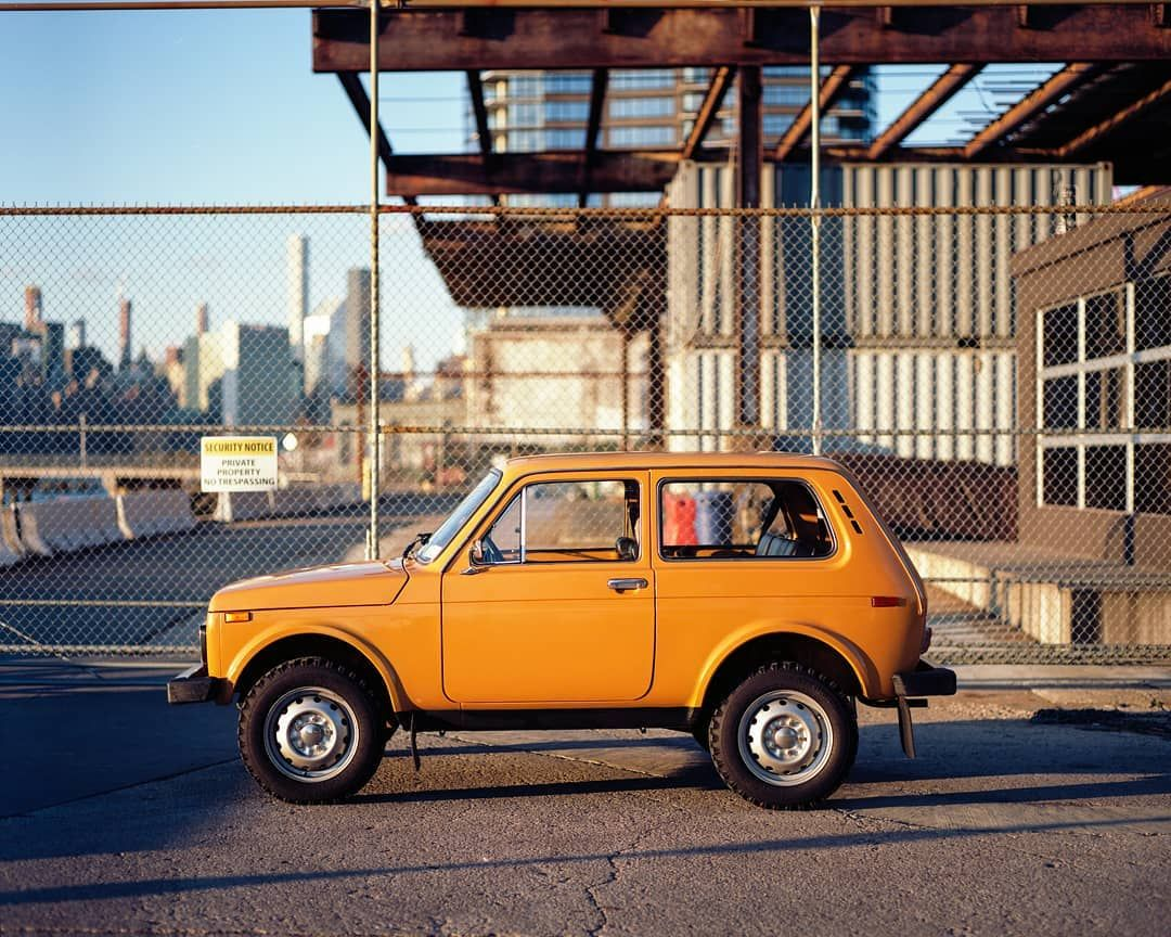 Gear Patrol On Instagram A Lada 4x4 Is Best Captured On Medium