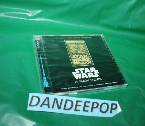 Star Wars Episode Iv A New Hope Original Motion Picture Soundtrack By John Wi Ebay In 2020 Star Wars Episode Iv Star Wars Episodes A New Hope