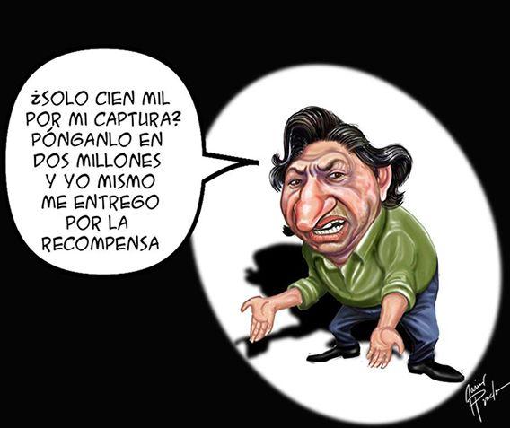 Resultado de imagen para Caricaturas de Alejandro Toledo