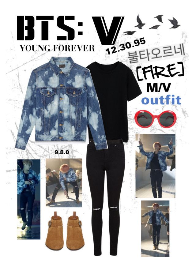 Bts V Fire M V Outfit Polyvore Bts Inspired Outfits Bts