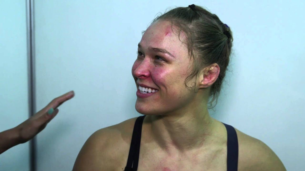 Ufc 190 Ronda Rousey Backstage Interview Ronda Rousey Mixed Martial Arts Ufc